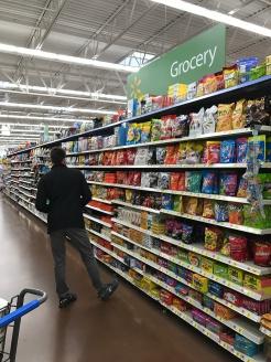 Deciding on snacks...